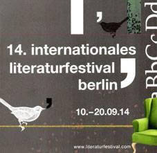 Berlln International Literature Festival 2014