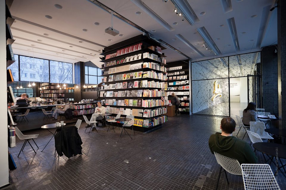Bookoff's bookshop in Warsaw