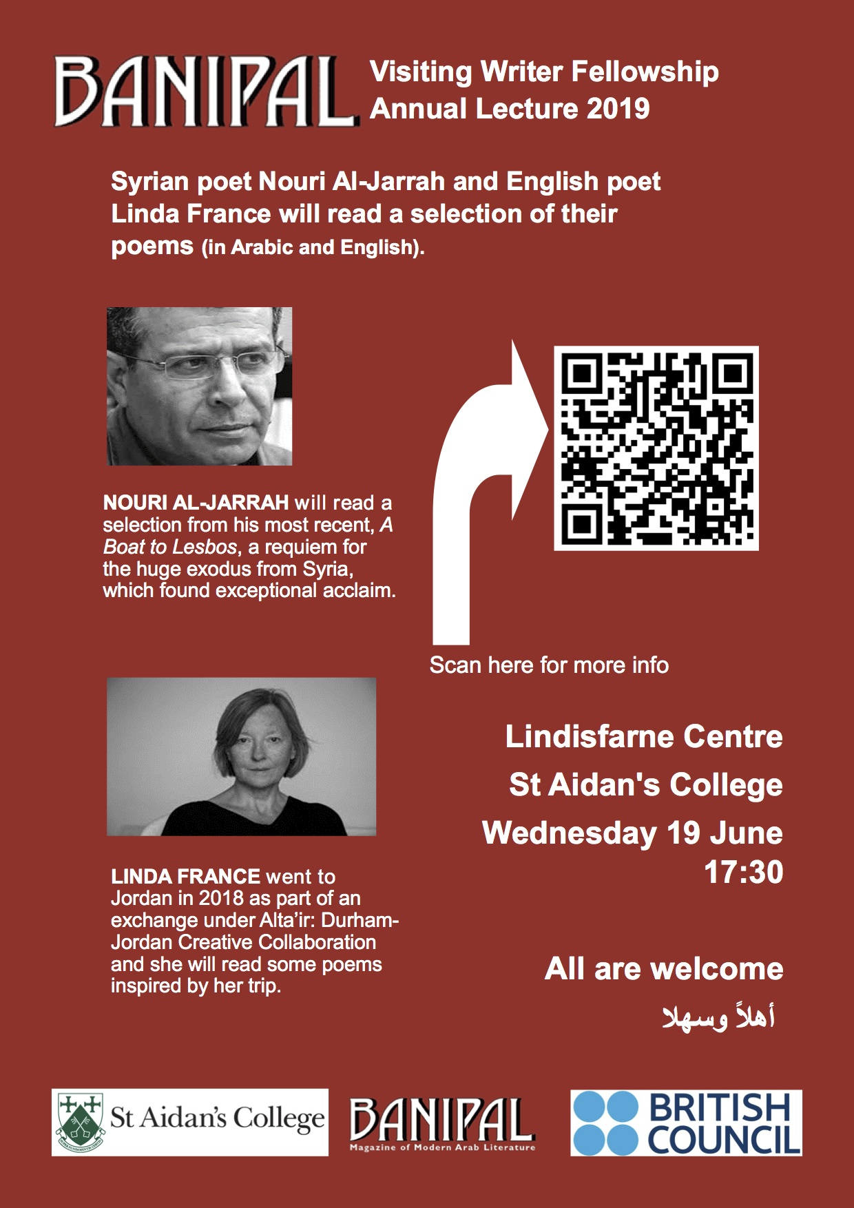 19 June Lecture poster
