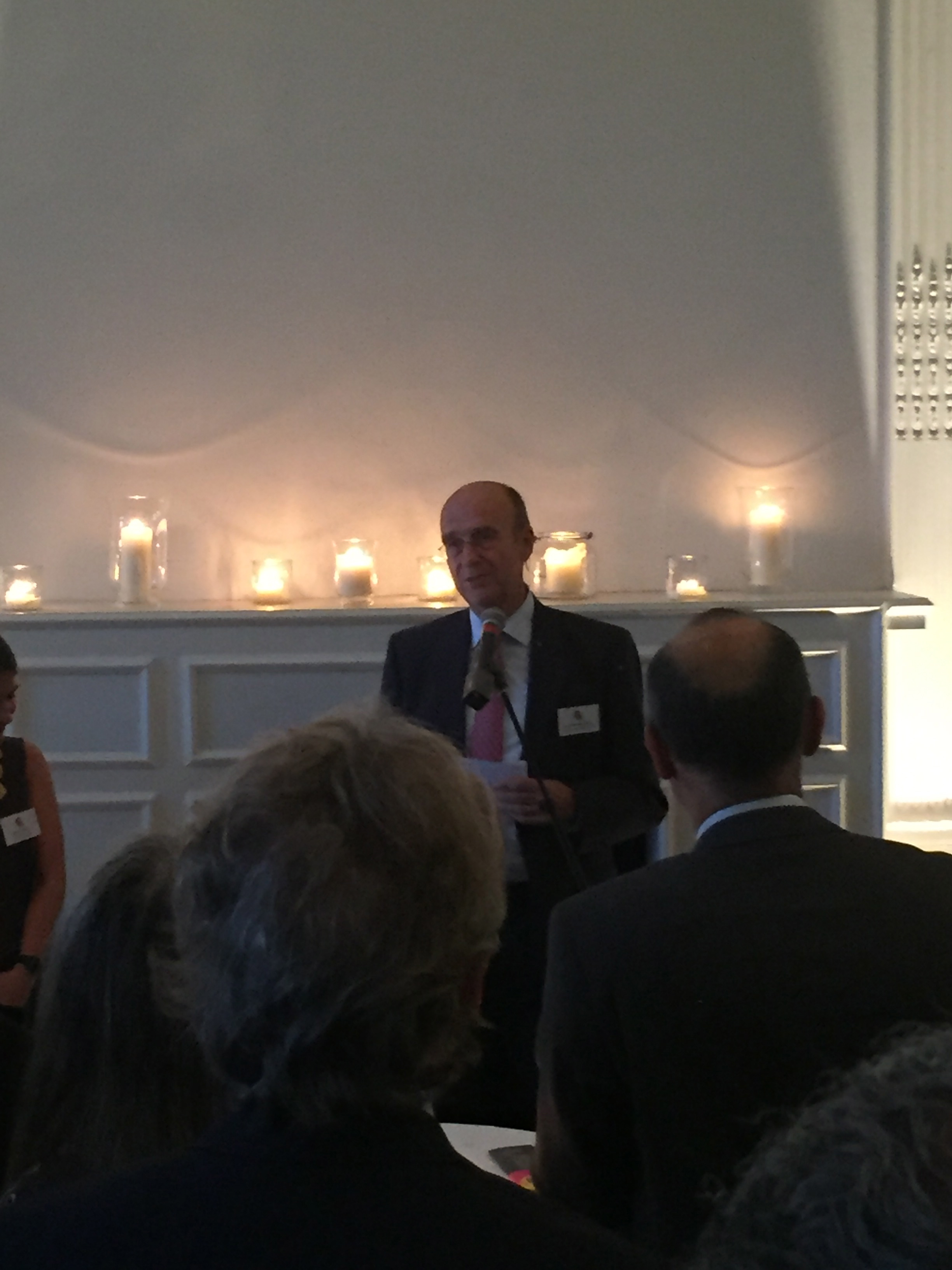 Sir Derek Plumbly, chair of Arab British Centre Trustees launching the Festival on 13 September