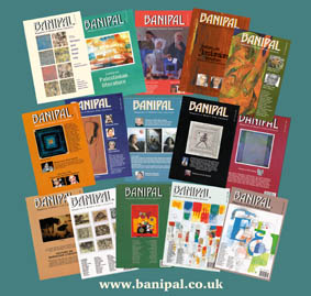 Collage of front covers for Banipals 1 to 17 (A4 size)
