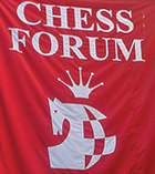 Chess Forum, New York, logo