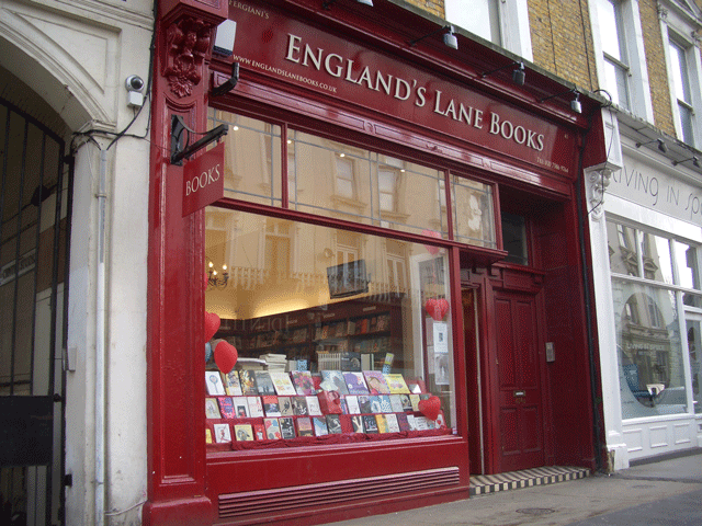 England's Lane Books