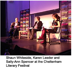 The Judges at the Cheltenham Literary Festival