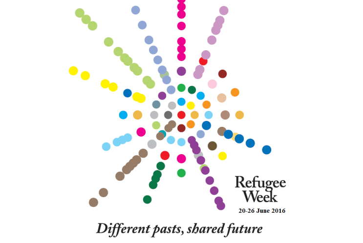 Refugee Week 2016 logo