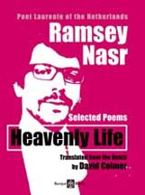 Front Cover of Heavenly Life - selected poems by Ramsey Nasr in English translation