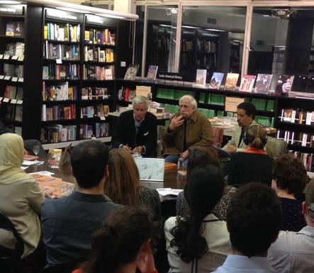 Audience with Zakaria Tamer at Waterstones 23 September