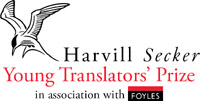 Harvill Secker Young Translators' Prize logo