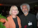Margaret Obank and Michel Moushabeck