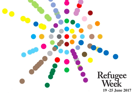 Refugee week logo 2017