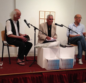 Image of Saadi Youssef book launch